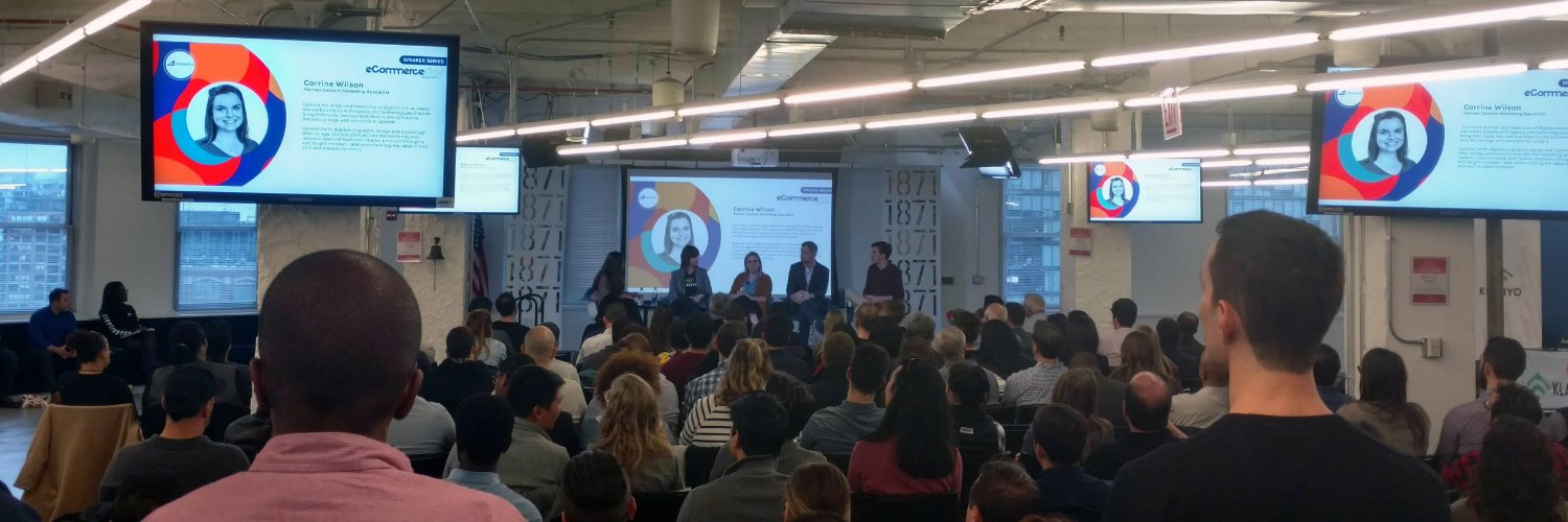2018 Easyship Ecommerce Day - I sat on a panel with participants from Klaviyo, Smile.io, and Easyship. Chicago.