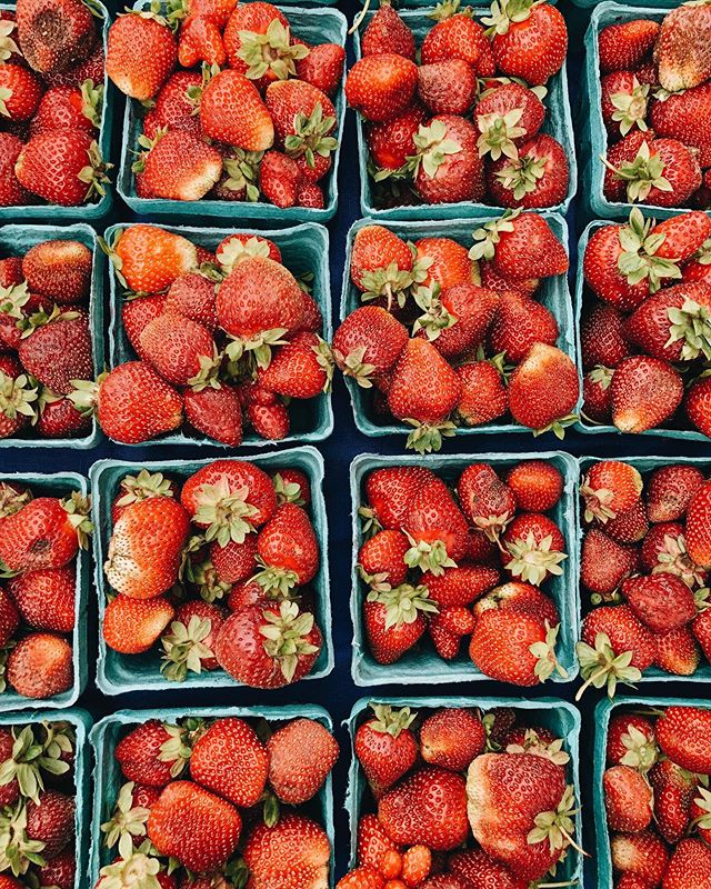 Obligatory strawberry picture = summer is almost here 🍓🍓🍓