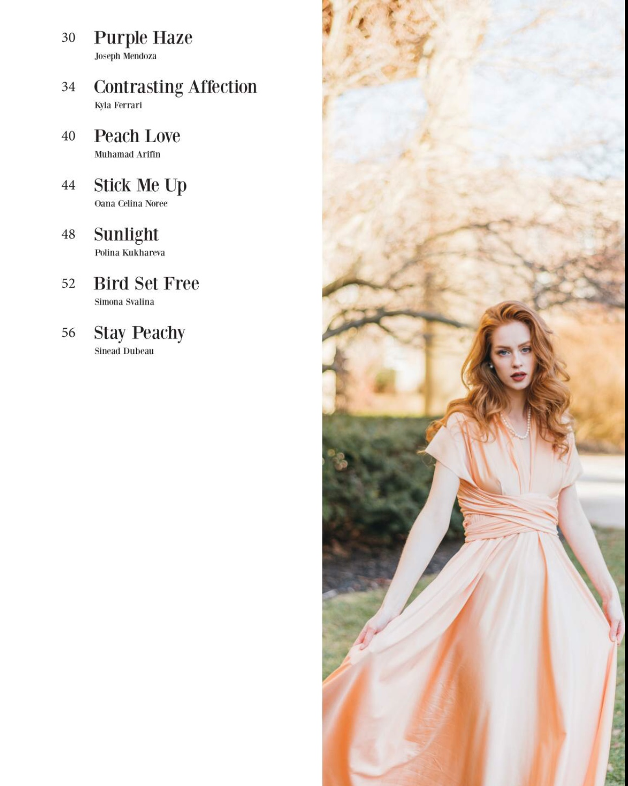 Sarah Peddle x Chavah Designs in Picton Magazine | Halifax Portrait Photographer