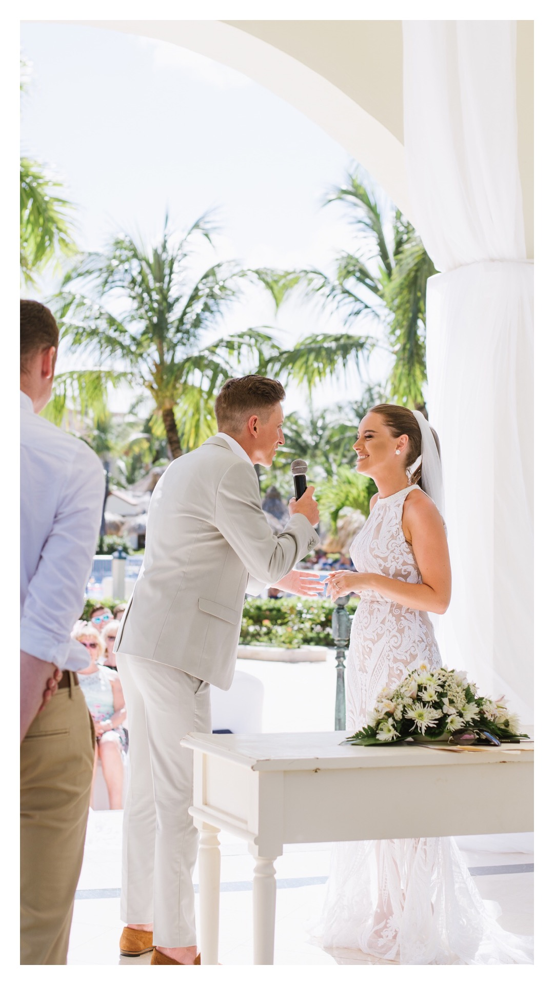 A Colorful Destination Wedding in Punta Cana, Dominican Republic | Halifax Wedding Photographer