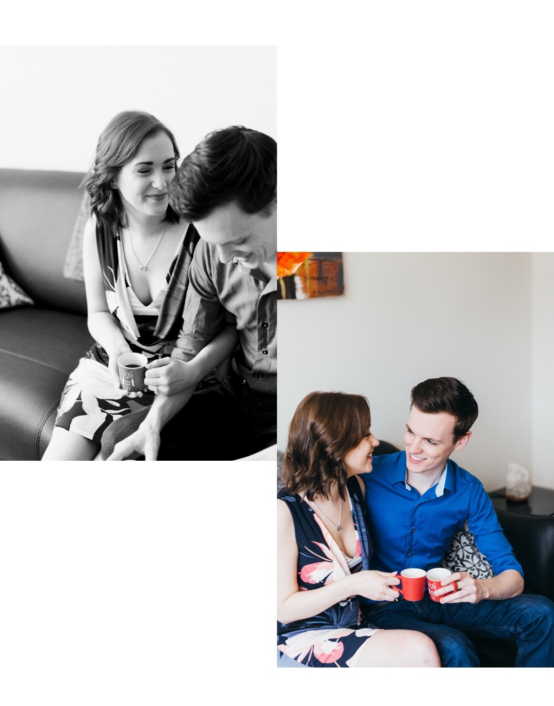 Tabatha & Connor's At-Home Engagement | Halifax Wedding Photographer