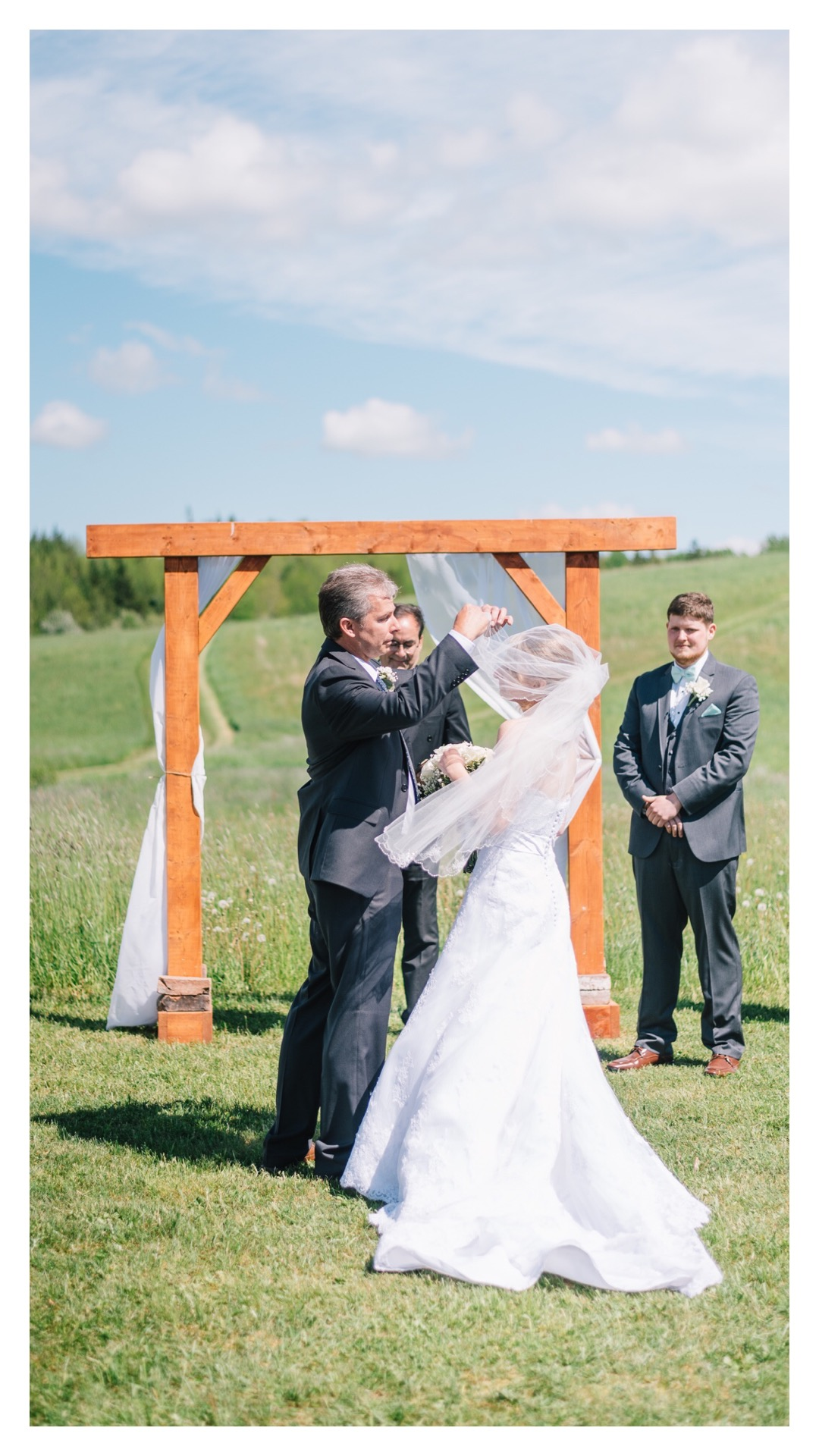 Sneak Peek from Kirsten & Brayden's Sunny Rural Wedding in Pictou County | Halifax Wedding Photographer