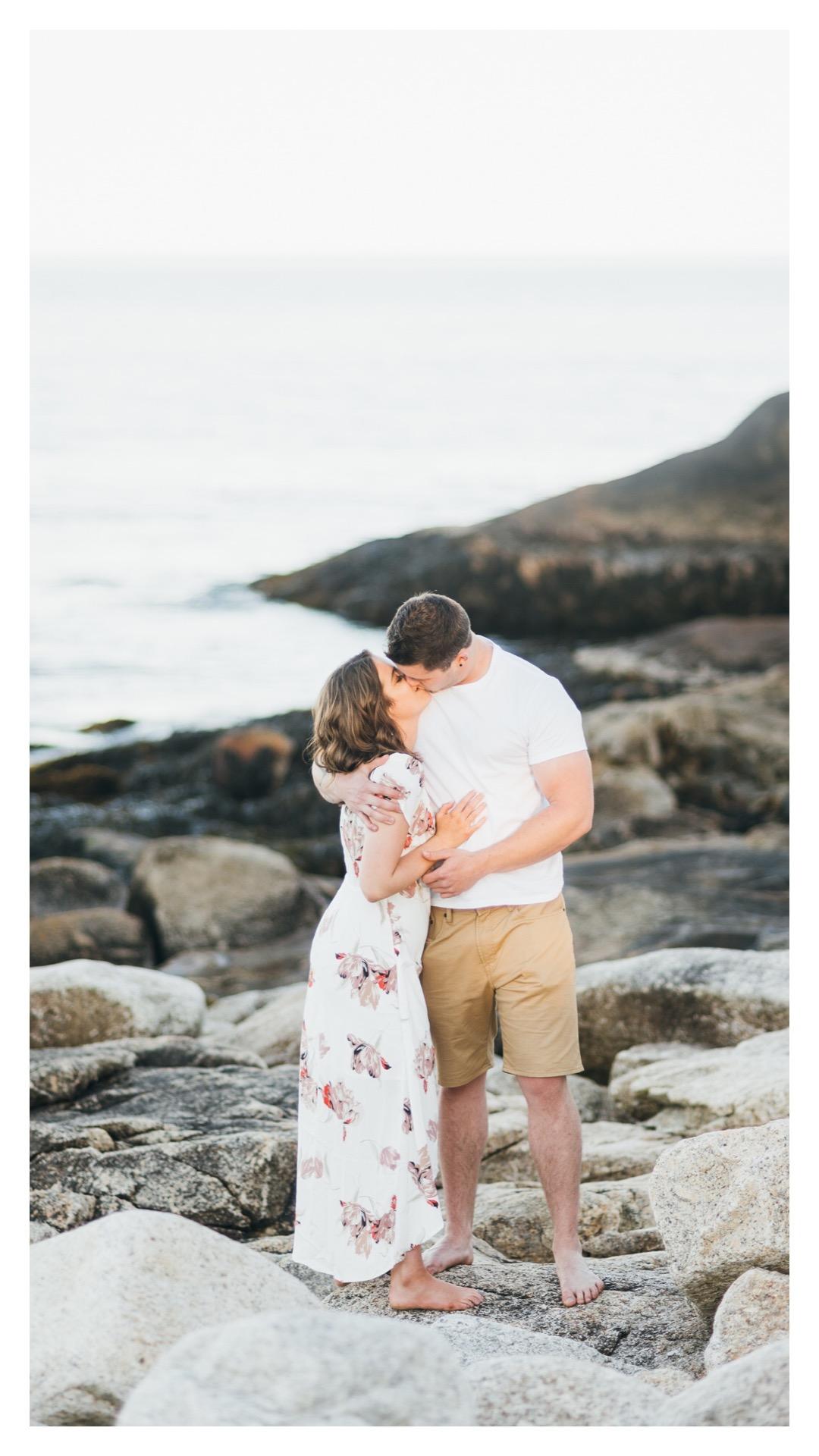 Jill & Talon's Golden Hour Engagement | Halifax Wedding Photographer