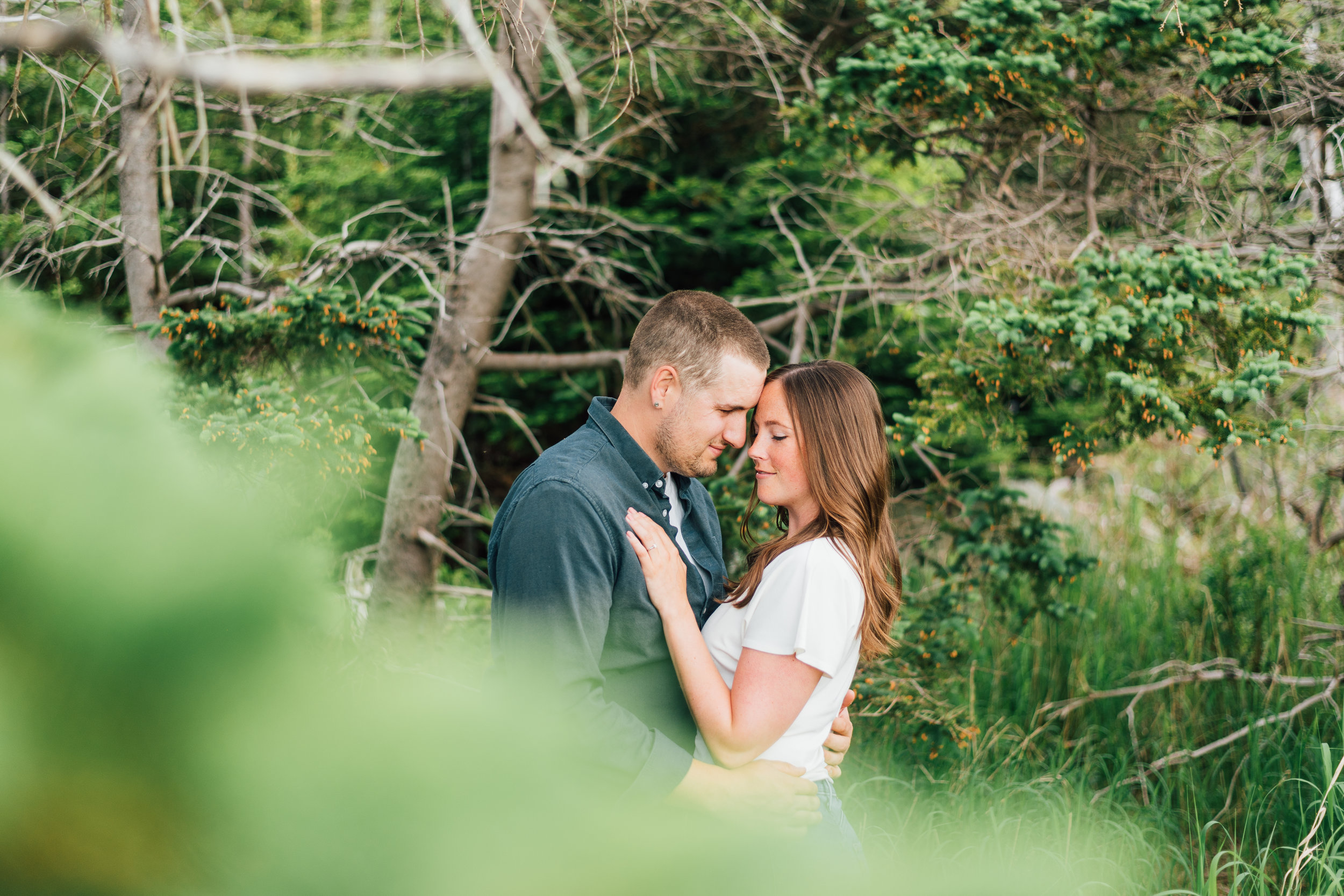 Engagement by the Ocean - Mackie & Jessie | Halifax Wedding Photographer