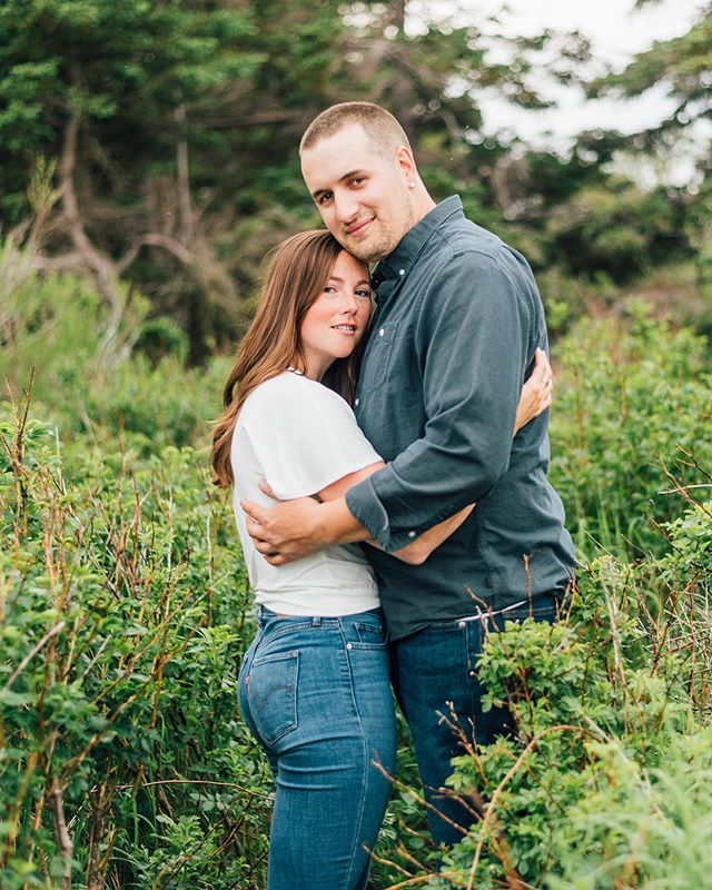 The countdown is almost over - tomorrow these two will officially be Mr. & Mrs. Risser 🎉🥰 . . . #makeportraits #postmoreportraits #postthepeople #engaged #engagementphotos #halifax #halifaxweddingphotographers #halifaxweddingphotographer #shesaidyes #portraitgames #explorenovascotia #countrywedding #pursuepretty #vscofashion #vscogood_ #vscogallery #vscodaily #portraitsociety #vscoportrait #vscovisuals #vscoonly #darlingmovement #darlingweekend #rusticwedding #goldenlight #agameoftones #weddingphotography #engagedandinspired #portraitkillers #portraitmood