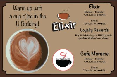 Elixir/Cafe Moraine #1