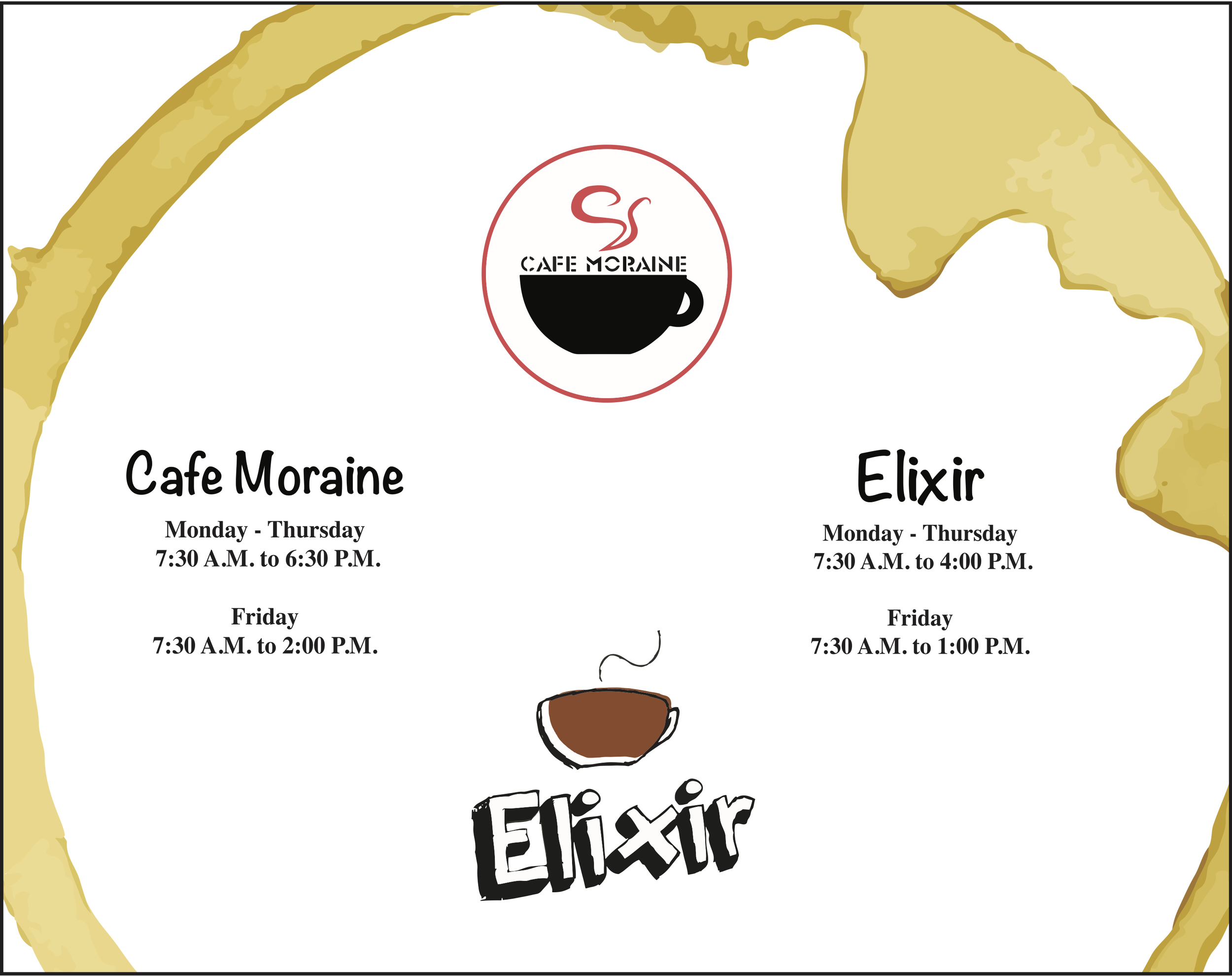 Elixir/Cafe Moraine #2