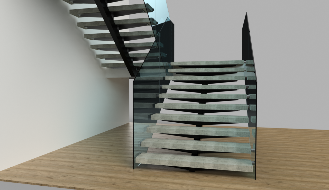 Staircases and Guardrails