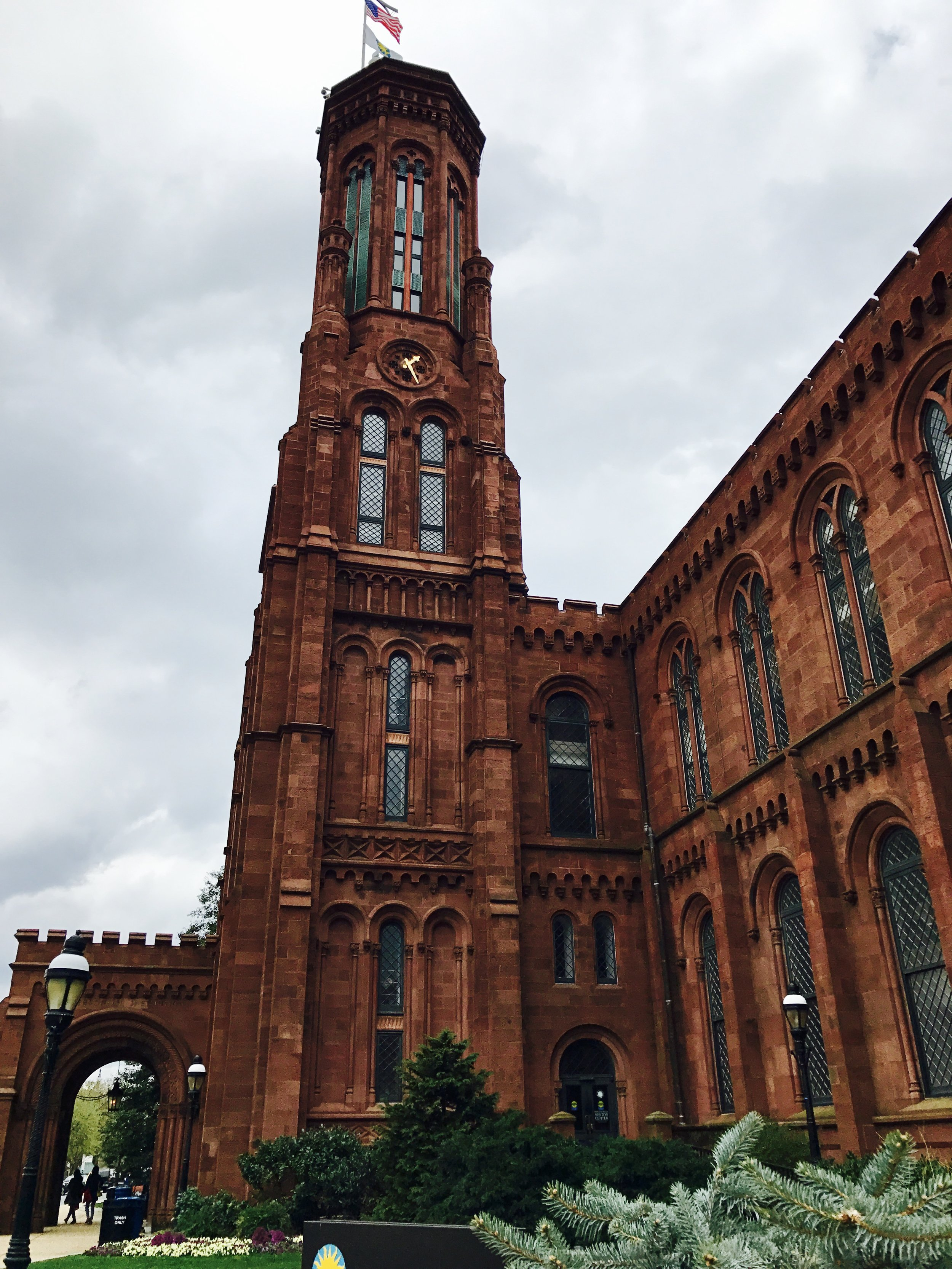 The Smithsonian Institution Building (The Castle).