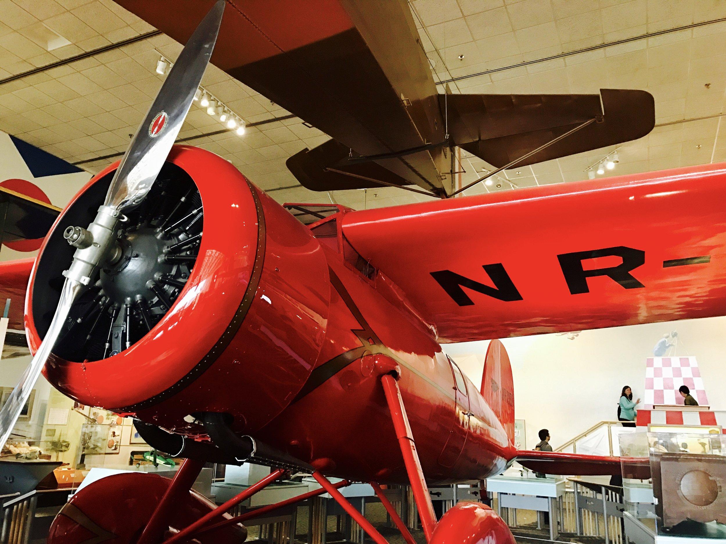 Amelia Earhart's Lockheed Vega.