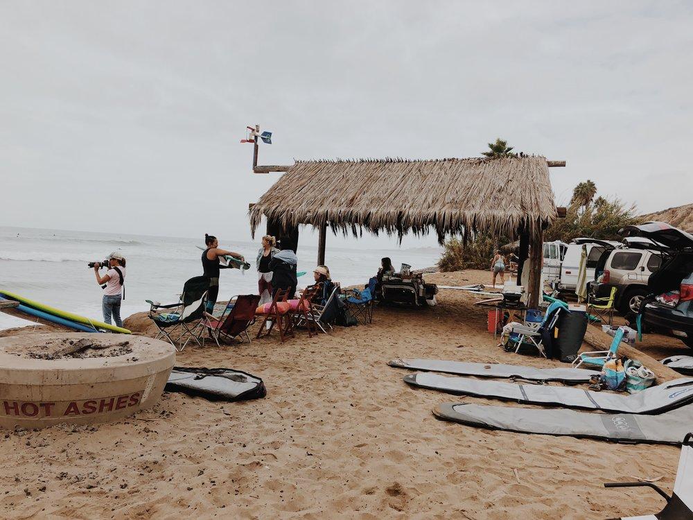 - Surfing starter tips