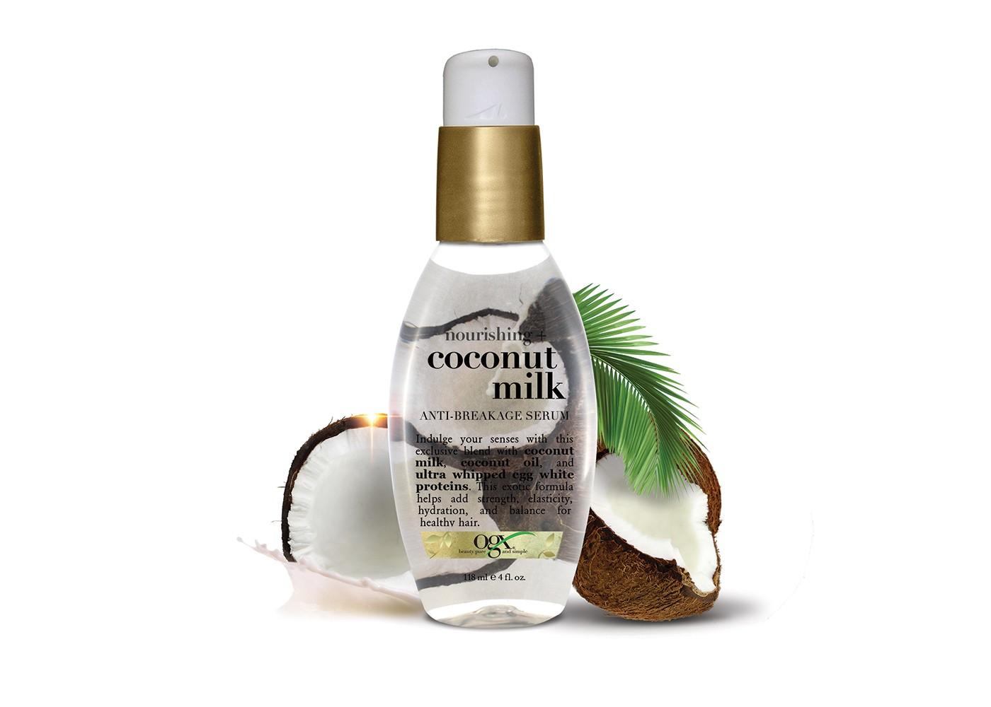 OGX  | Coconut Milk Anti-Breakage Serum |  $8.47