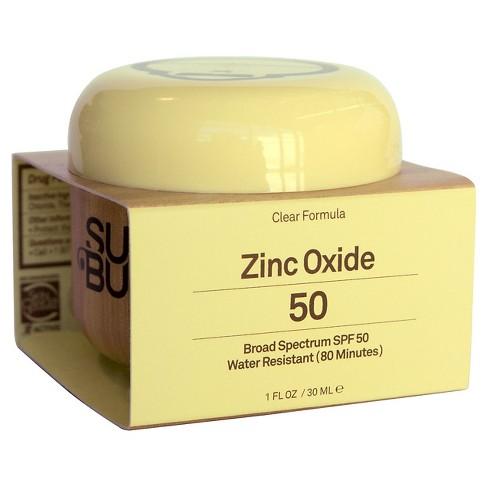 Sun Bum  | Clear Zinc Oxide Sunscreen Lotion, SPF 50 |  $10.99