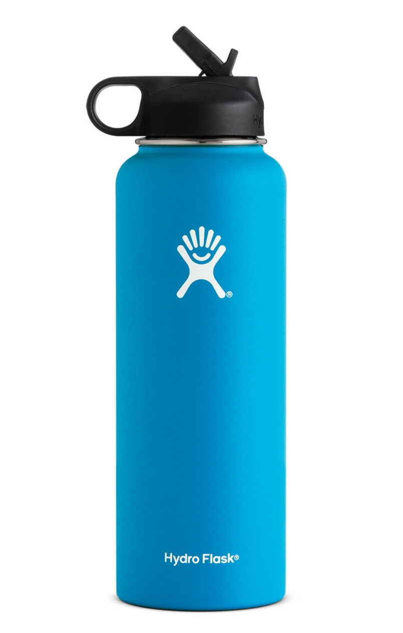 Hydro Flask  | Double Wall Vacuum Insulated Stainless Steel Sports Water Bottle, Wide Mouth with BPA Free Straw Lid |  $28.58 - $79.99