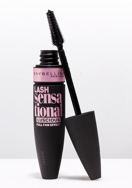 Maybelline  | Lash Sensational Luscious Mascara / Blackest Black |  $6.40