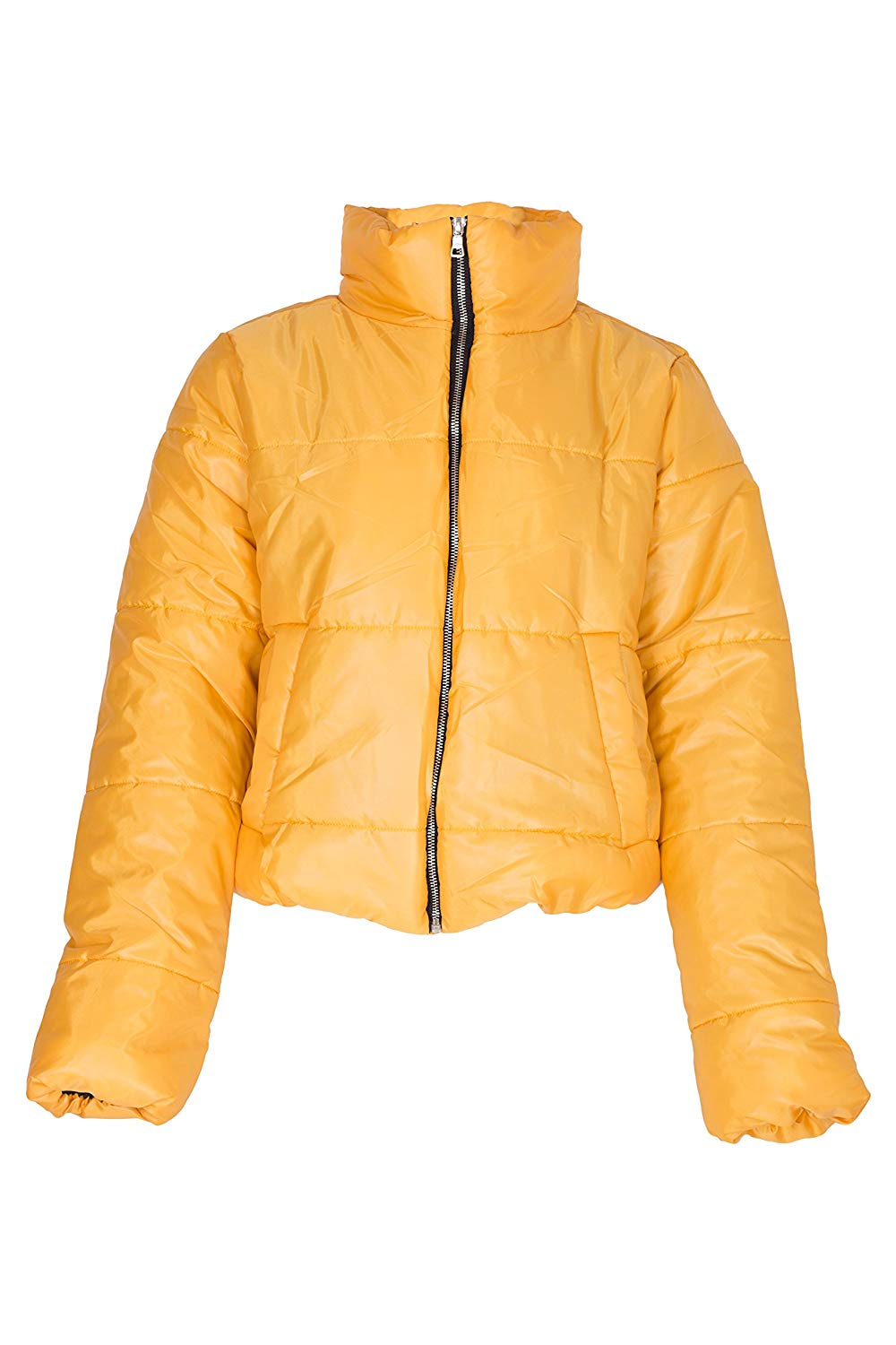 Noroze  — Womens Crop Jacket Padded Puffer Coat Cropped —  $24.99