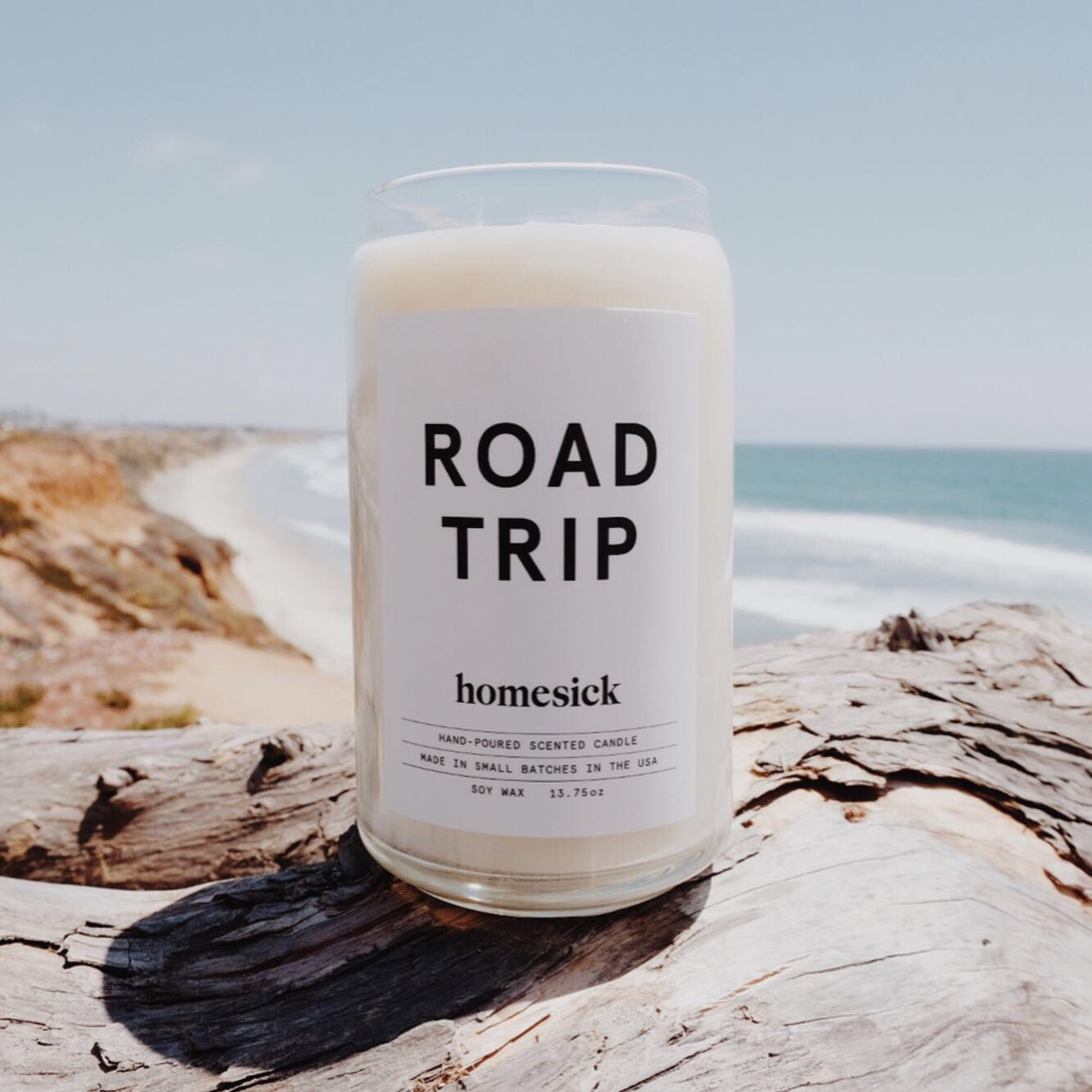Homesick Candles  | Road Trip |  Prices May Vary