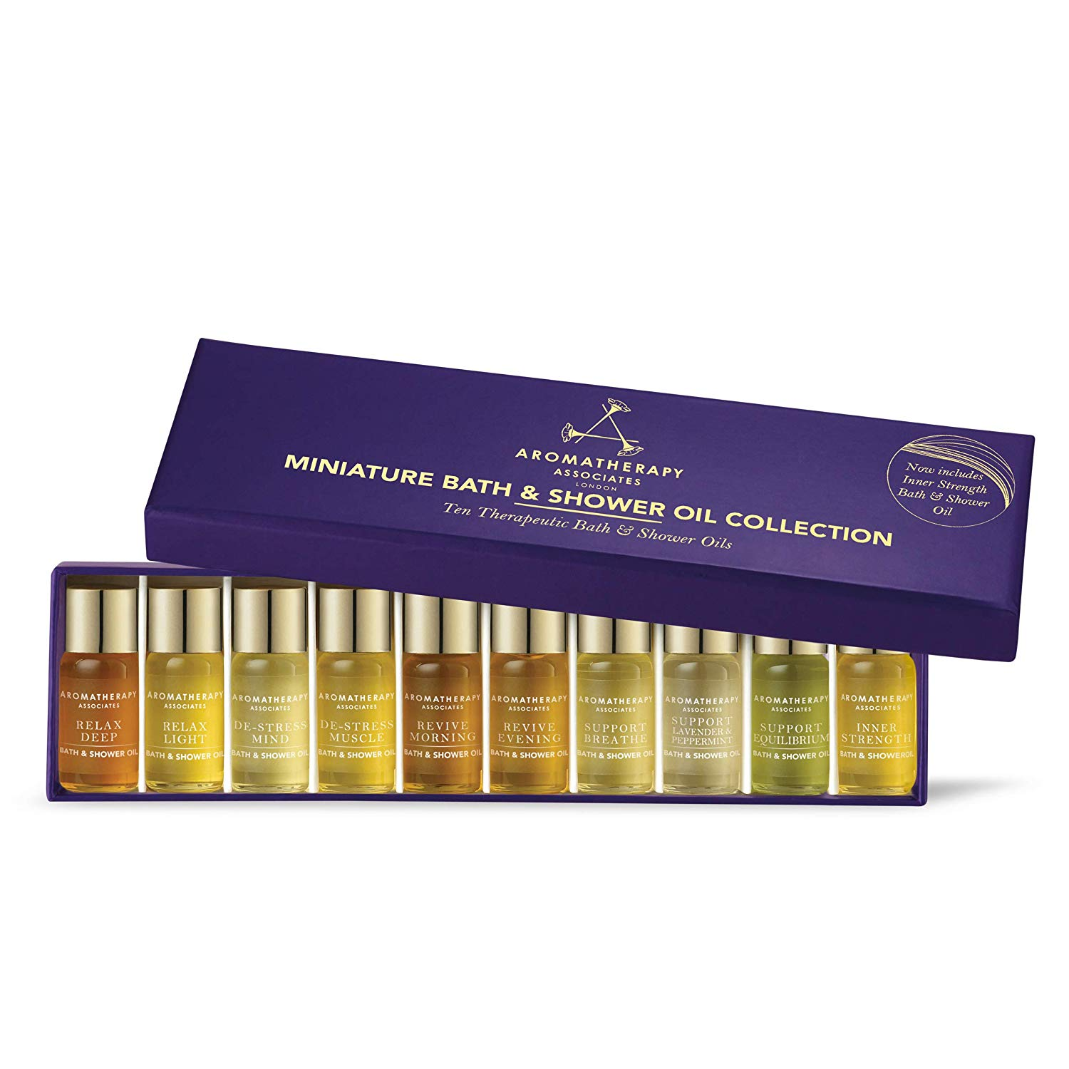 Aromatherapy Associates  | Miniature Bath And Shower Oil Collection |  $60.00
