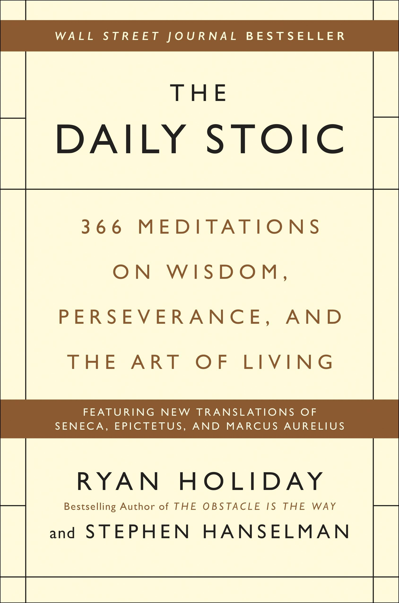 Ryan Holiday  | The Daily Stoic   |  $15.00