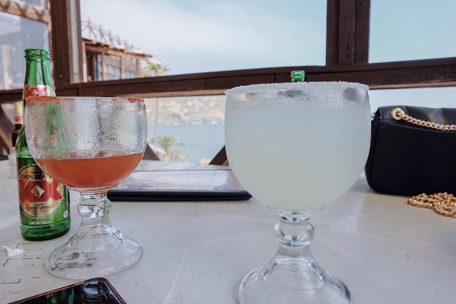Ok, let's also have a House Margarita with Tequila Blanco to-go…