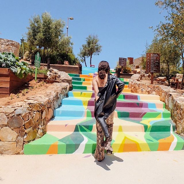 Always on the lookout for the most colorful places—🎨 #ValledeGuadalupe
