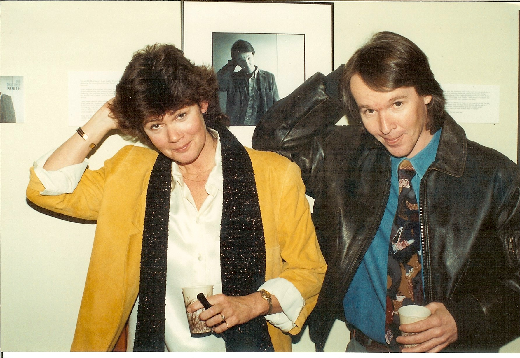 Bill and photographer Susan Wilson