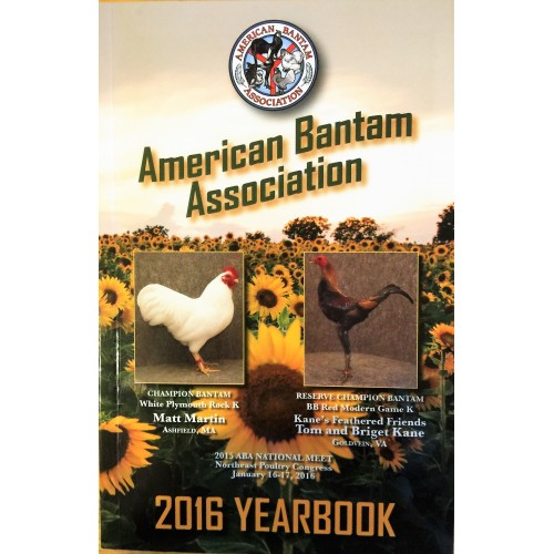 American Bantam Association Sunflower Cover