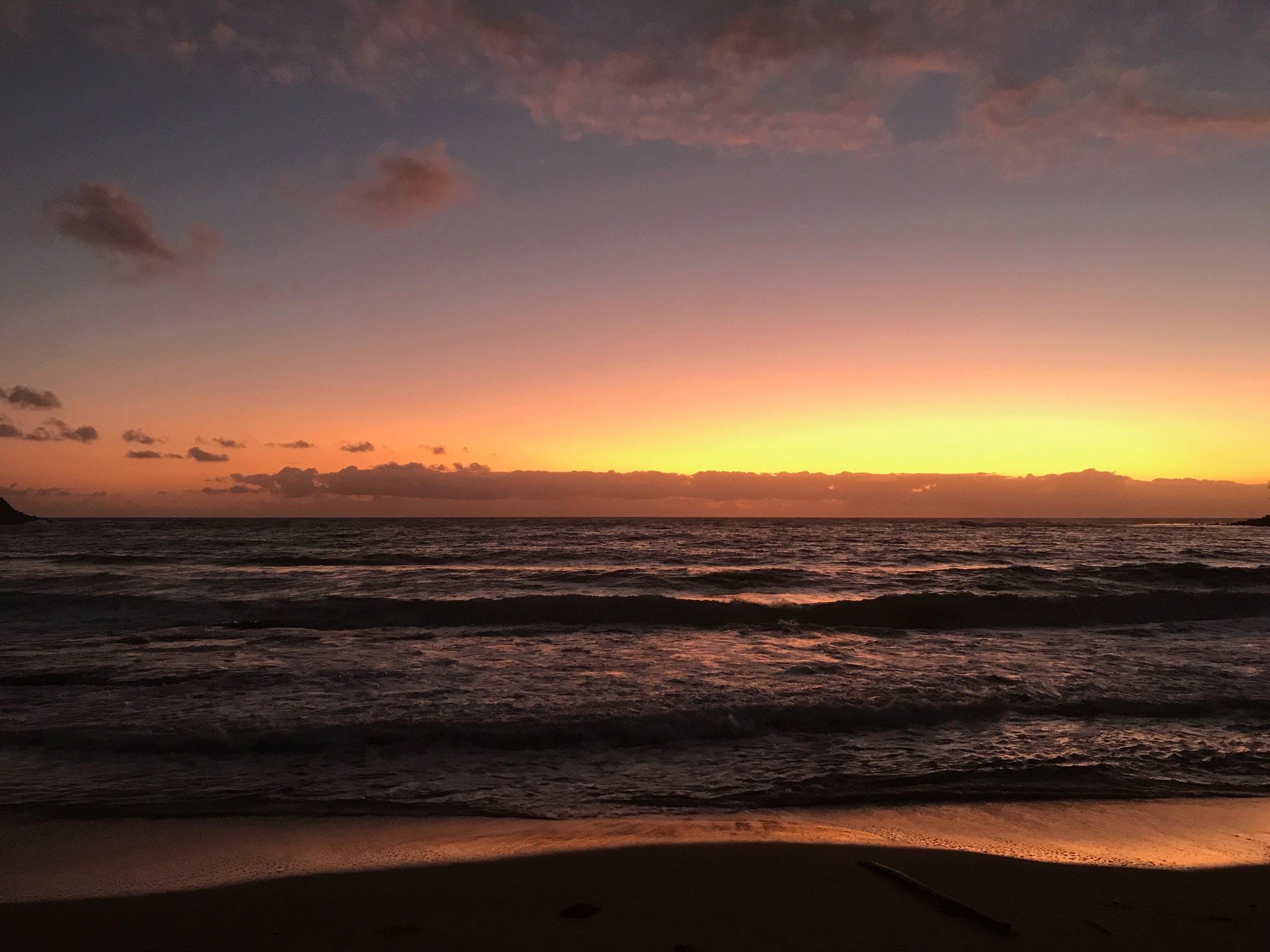 宮古島はどんな朝日、夕日を見せてくれるだろう。。。今からワクワクするよ〜