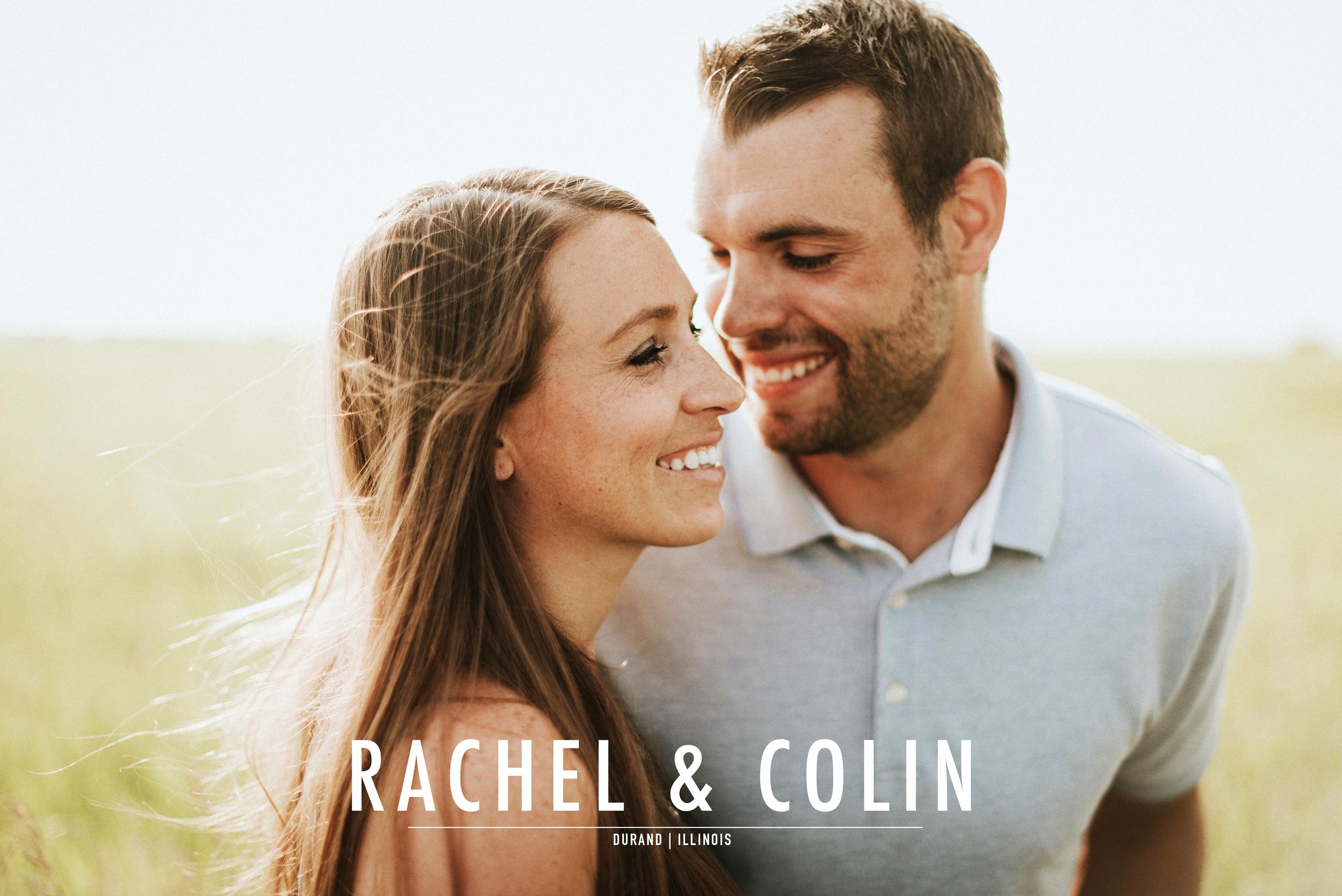 Rachel + Colin Engagement