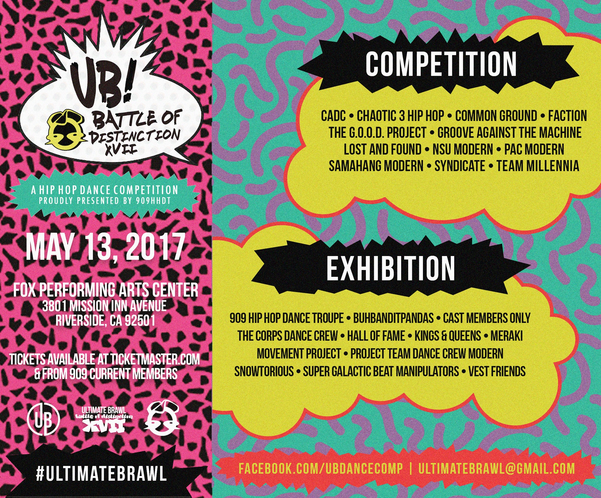 Catch The Corps at Ultimate Brawl Battle of Distinction XVII performing in the Exhibition category. For more information check the flyer below or visit the facebook event!