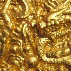 Aurum Metallicum (Gold) used for depression.
