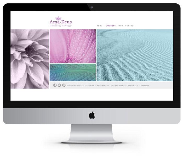 Ama•Deus Healing Energy Website