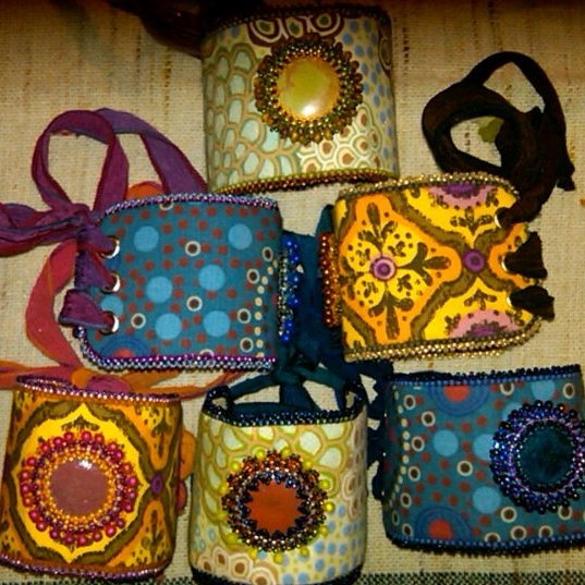 Bead Embroidered Fabric Cuffs.jpg