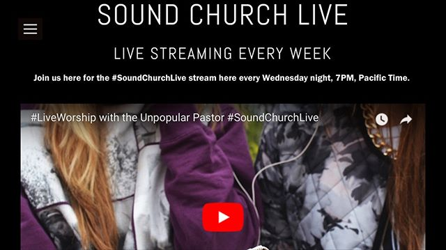 Happy Independance Day Week! We are still going to live stream our service this Wednesday at 7pm PST. Catch us at www.fb.com/SoundChurch or at www.sound.church for the live stream or the replay. And stay tuned for big news coming soon!