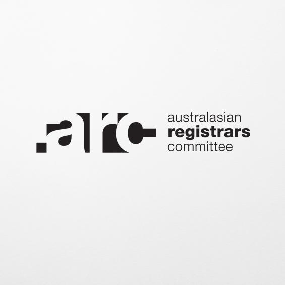 ARC  Website development & newsletter production  registrars.org.au