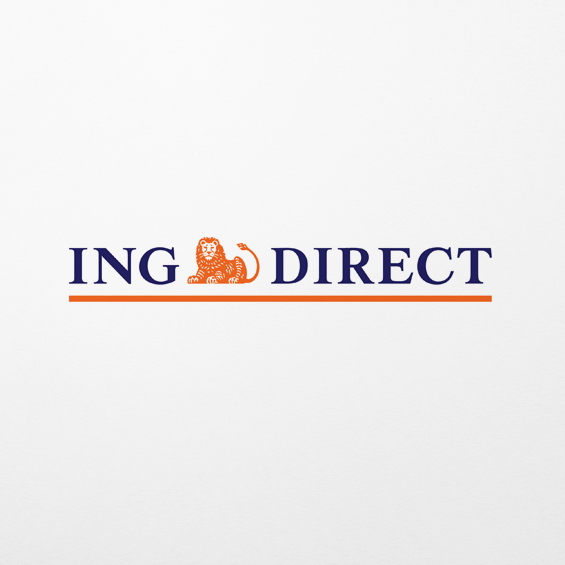 ING Direct  Printed infographic promotional flyer