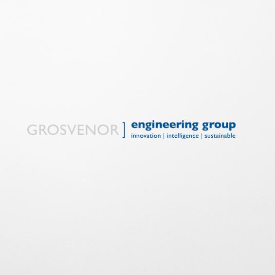 Grosvenor Engineering  Print, newsletter and infographic design