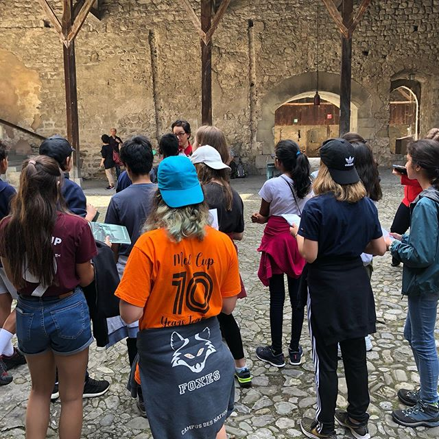 The Year 8 I&S Medieval Journey, learning about the history and geography of our host region | #ecolint #fieldtrip #switzerland