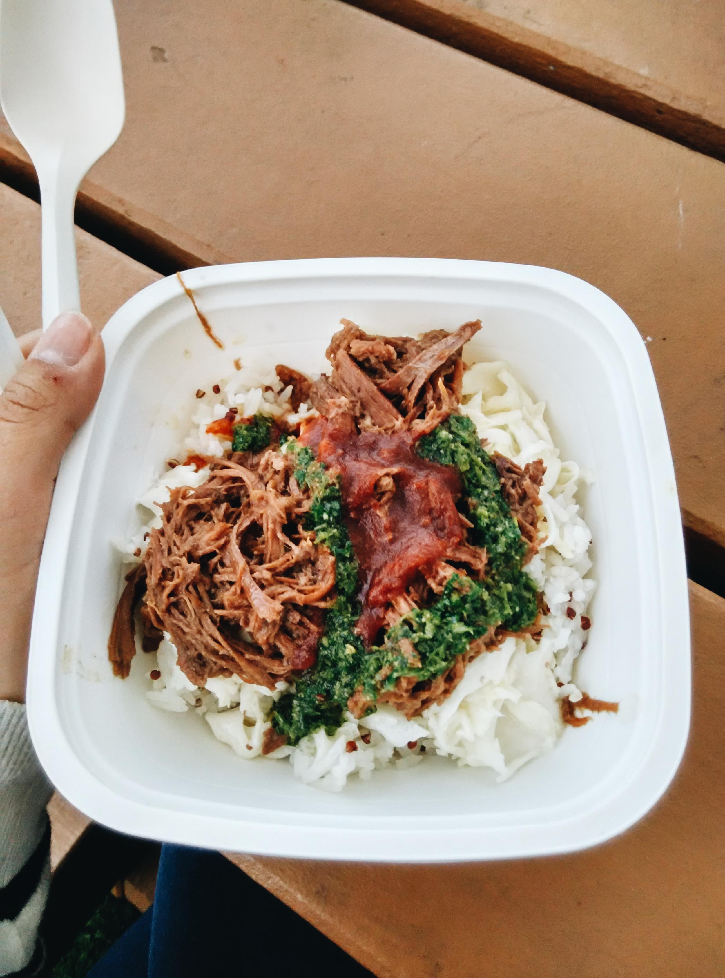 Wagyu Beef Rice Food Truck