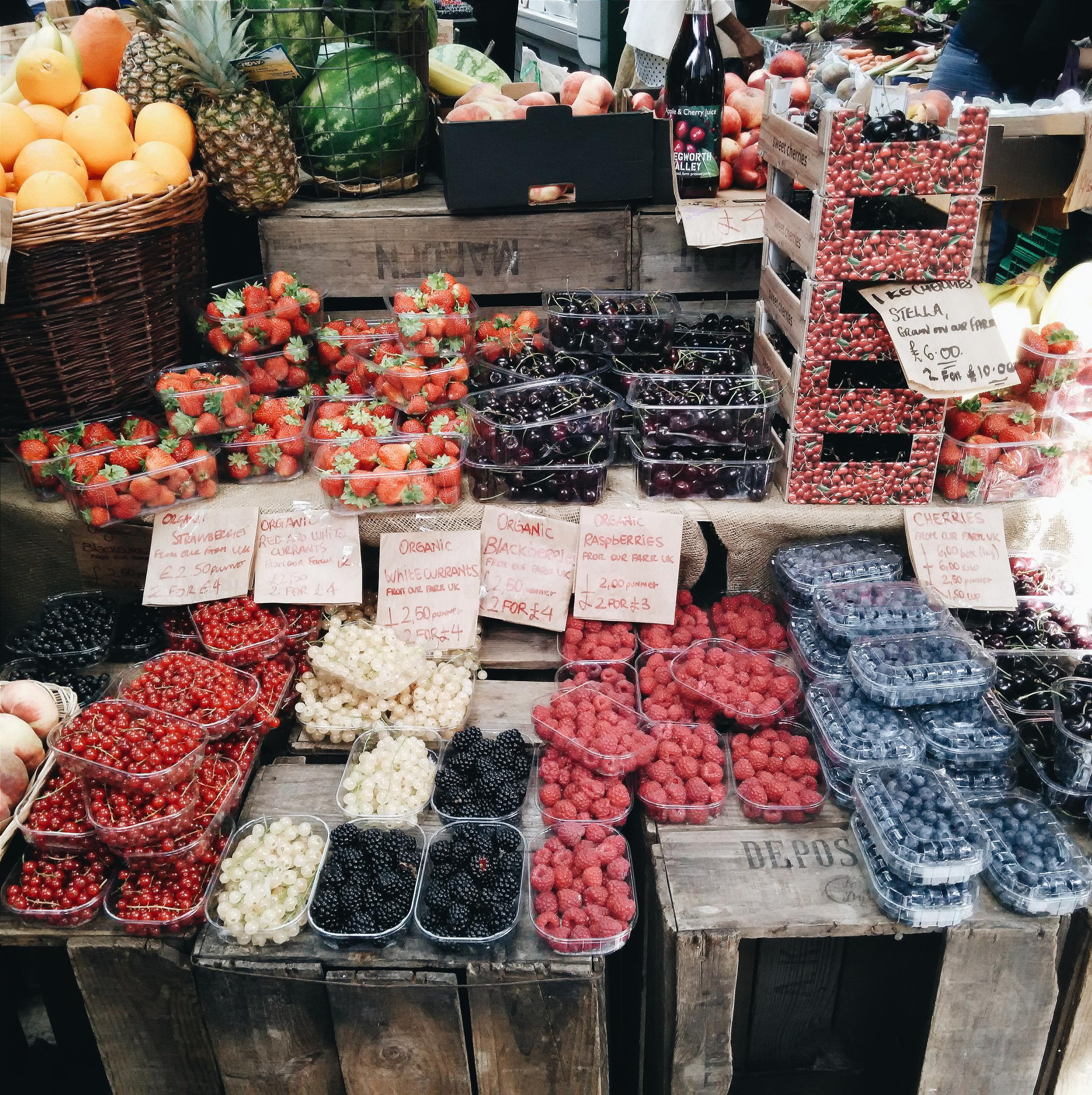 Summer berries galore