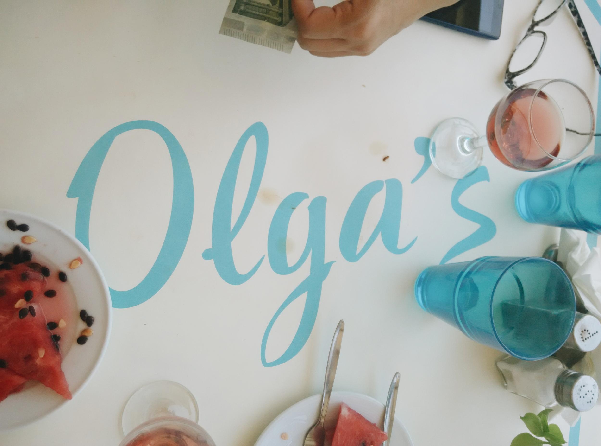 Olga's!!!!!!