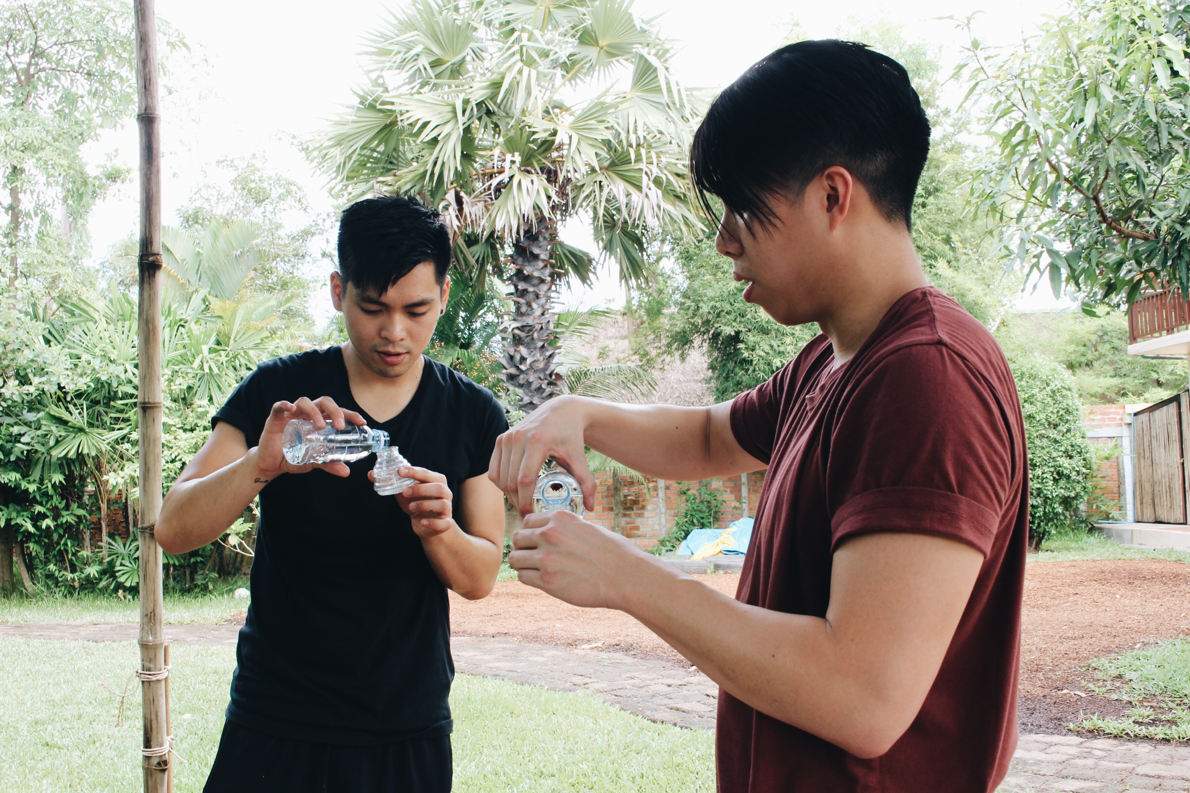 Filling up oil lamps was for our maintenance crew!  Credits: Adeline Hong (Instagram: @addyhong )