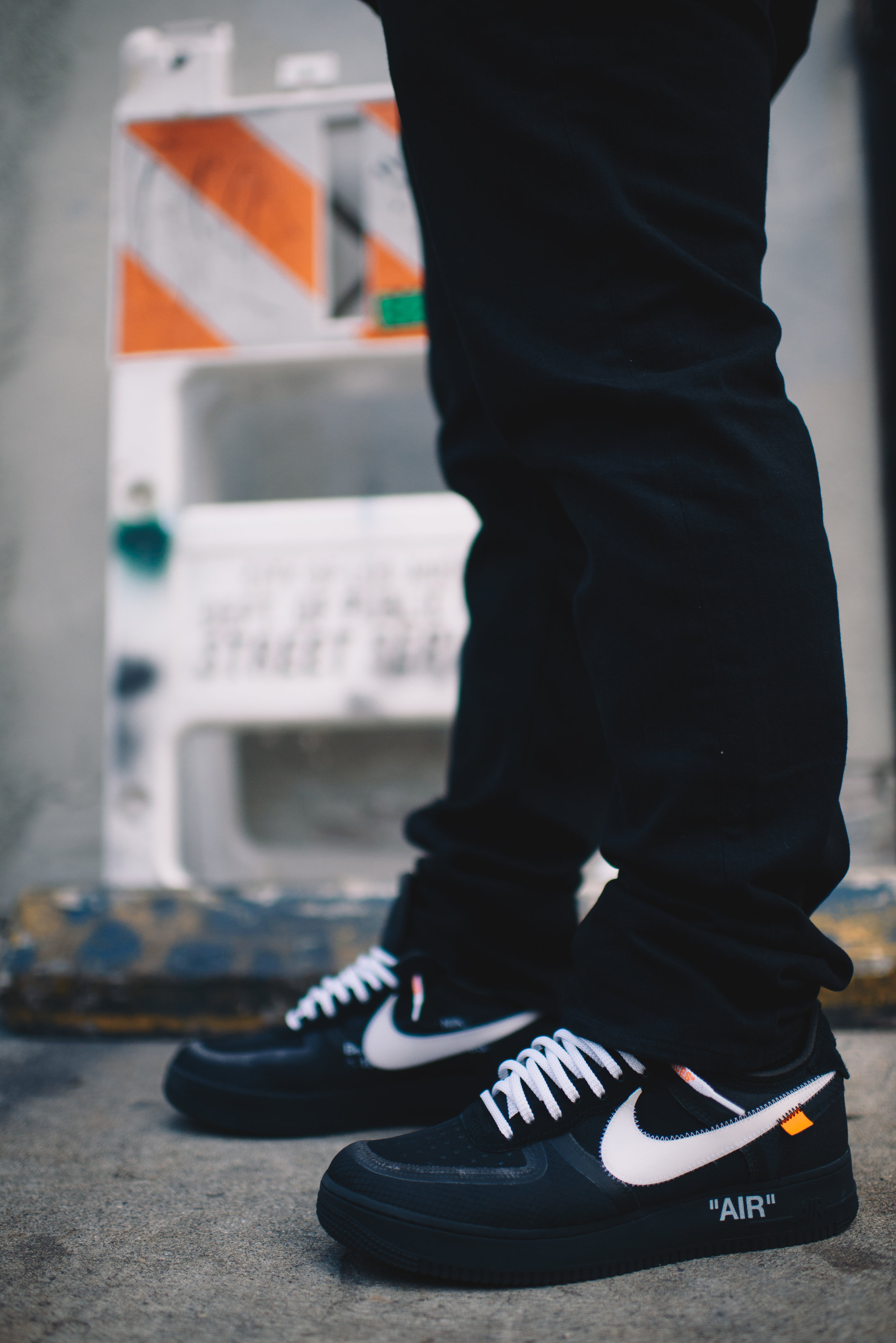 """Air Force 1 """"Off-White"""" Black"""