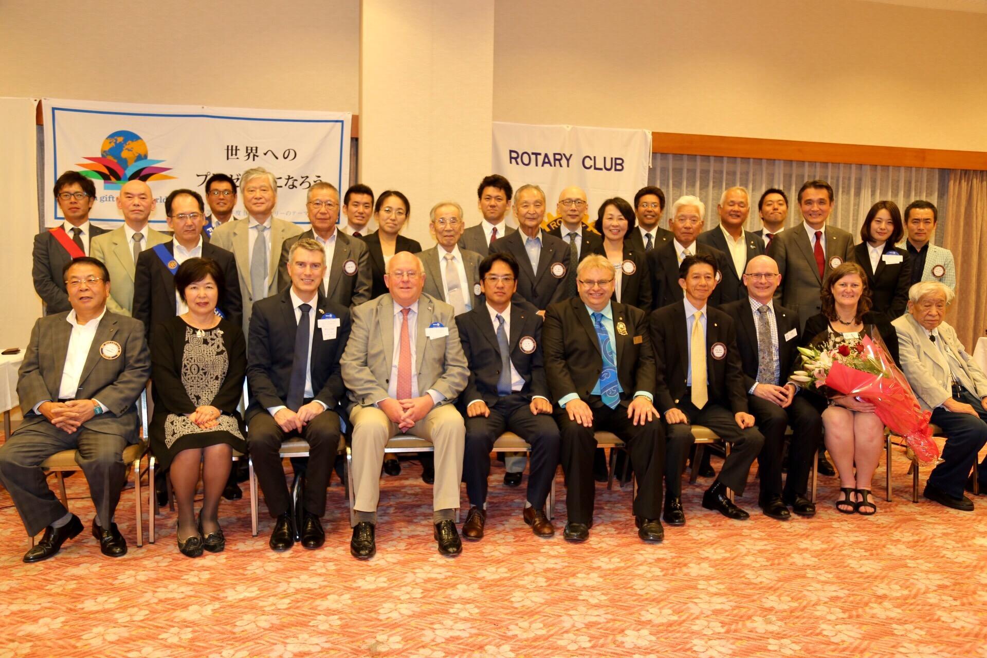 Minoh Rotary hosts Hutt Valley Rotary and Hutt City Council