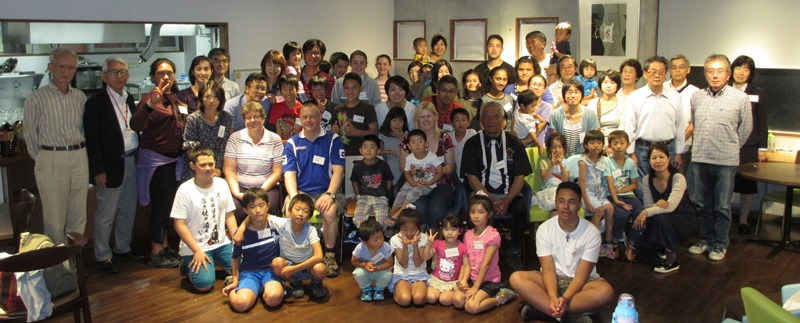 The Tui Glen School group welcomed at MAFGA by their host families