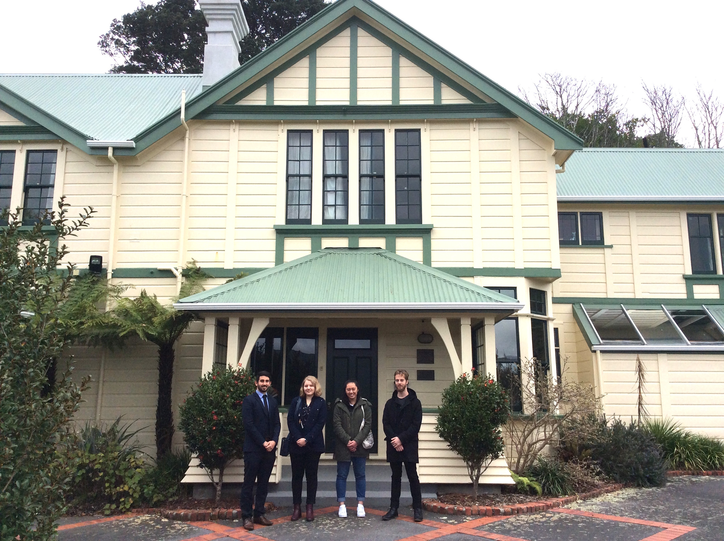 Tour of Hutt Minoh House in Normandale