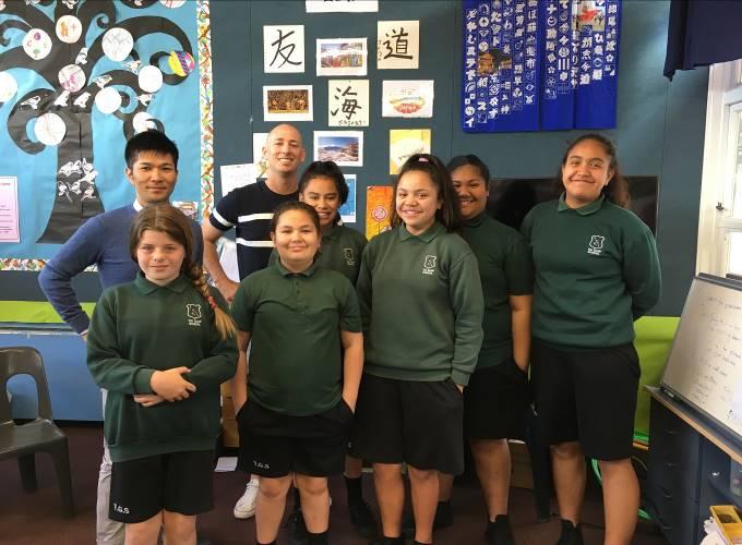 Students in Tui Glen School