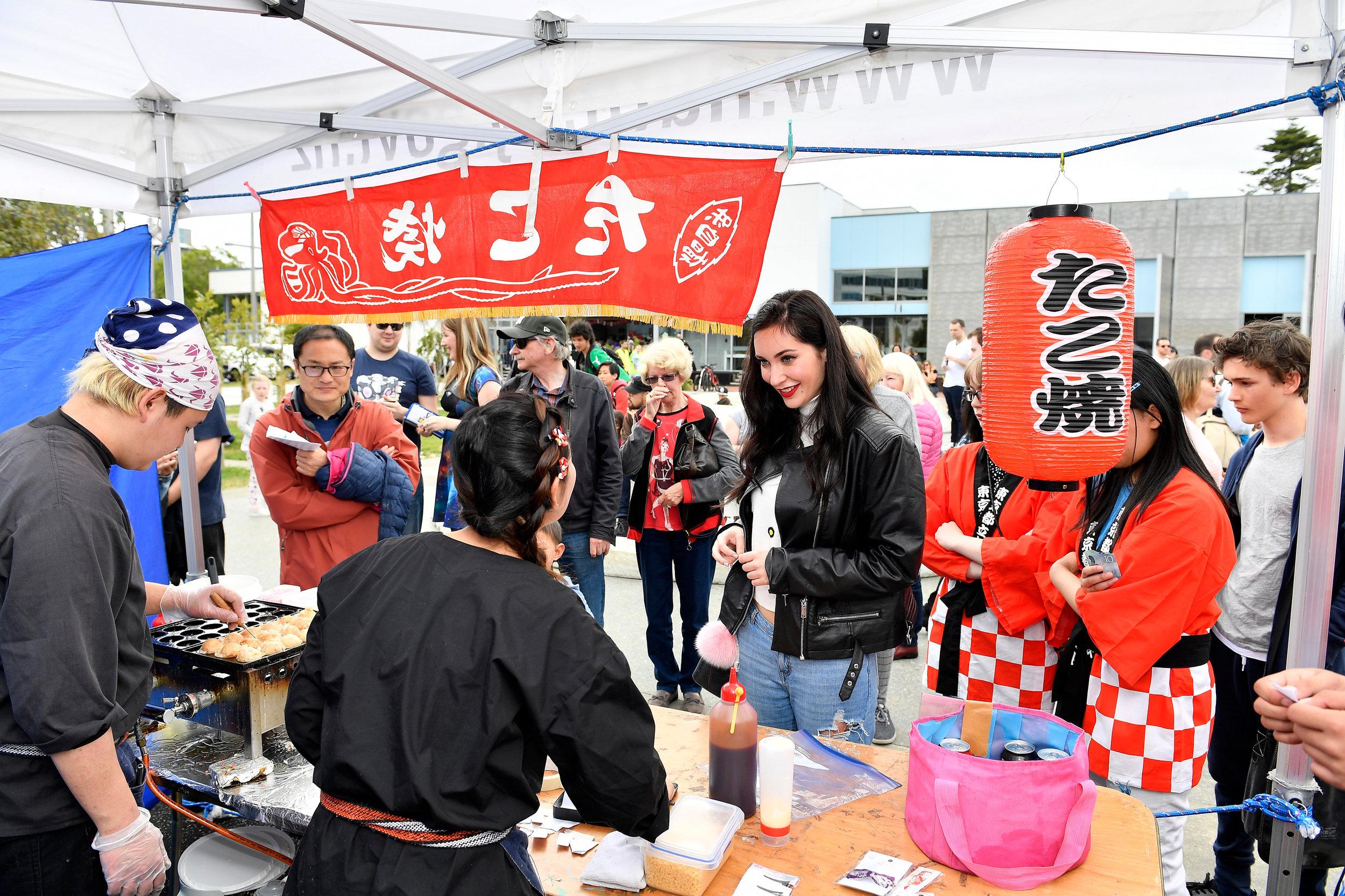 Takoyaki Food Stall - HJD 2017