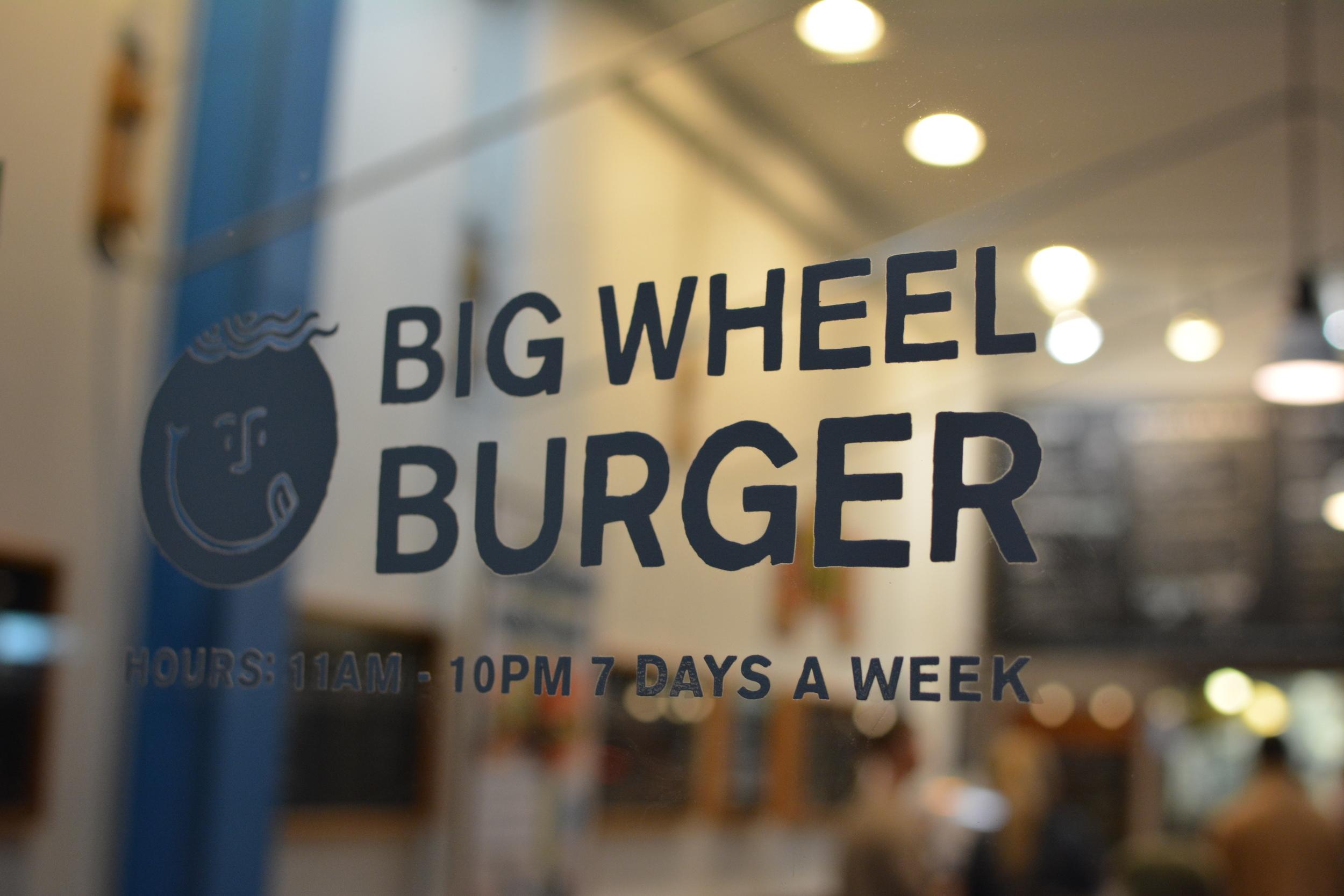 Big Wheel Burger // image by Chantal Ireland