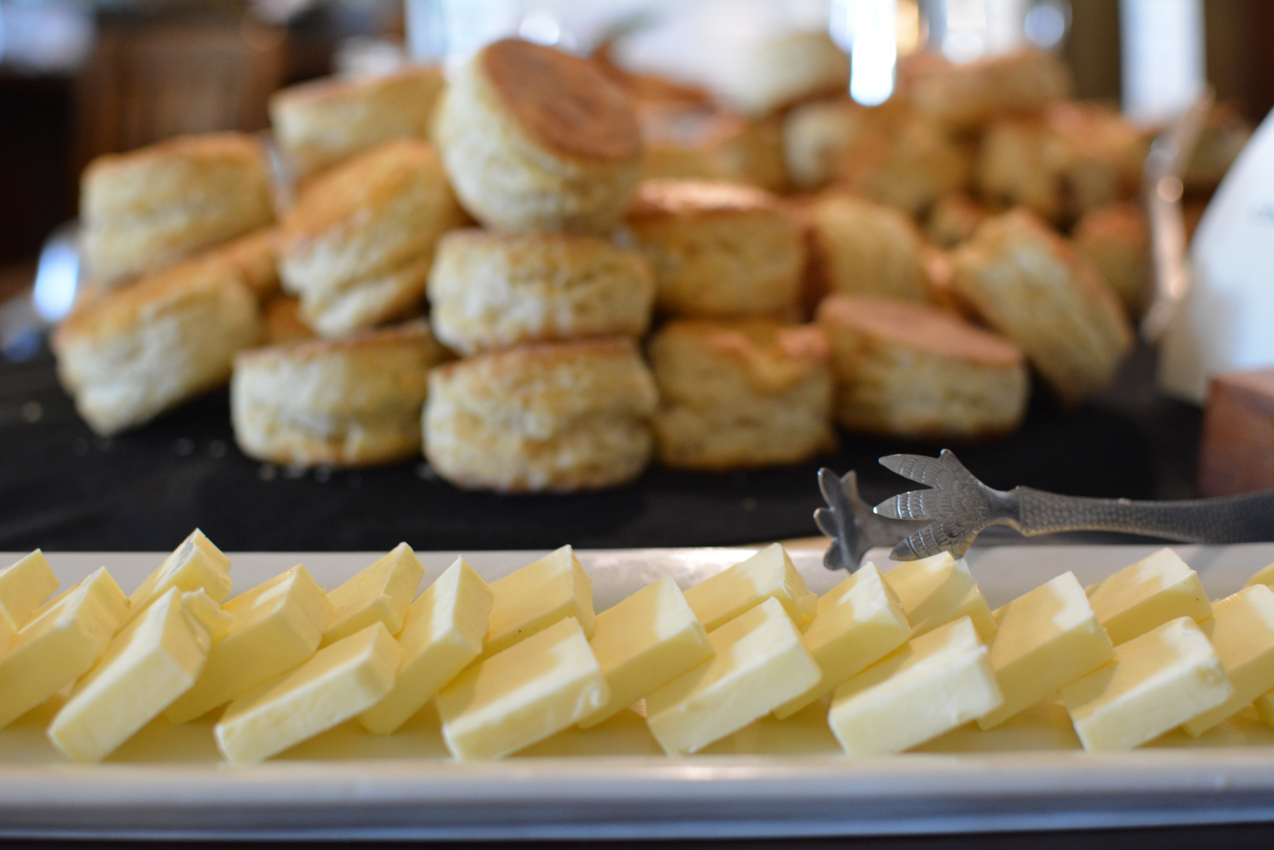 Biscuits at Spinnakers // image by Chantal Ireland